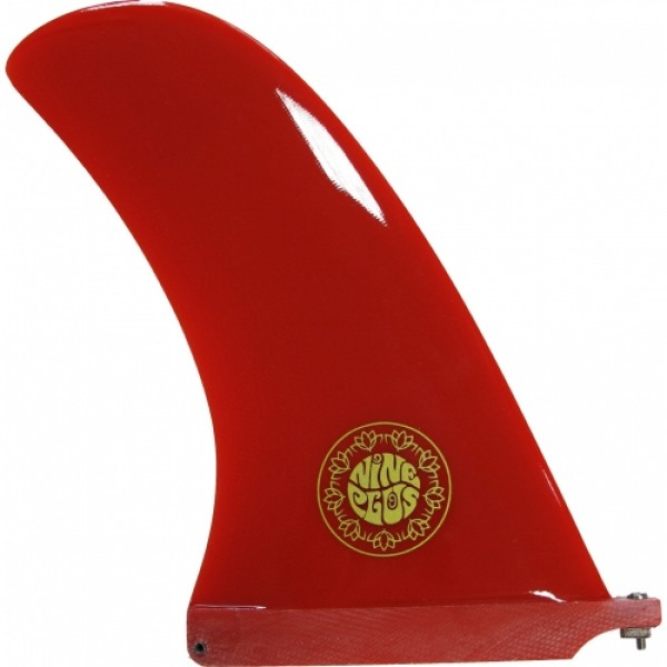 "NINEPLUS 9"" KEEL RED RESIN TINT"