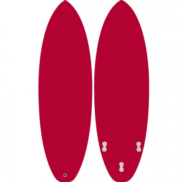 ALISURF SHORTBOARD RED