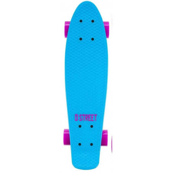 Skate Mini Cruiser D-Street Poly Prop  COLOR  22-inch