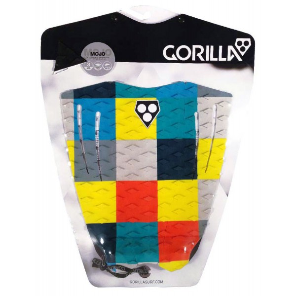 GORILLA GRIP MOJO TAIL PAD COLOUR SQUARES